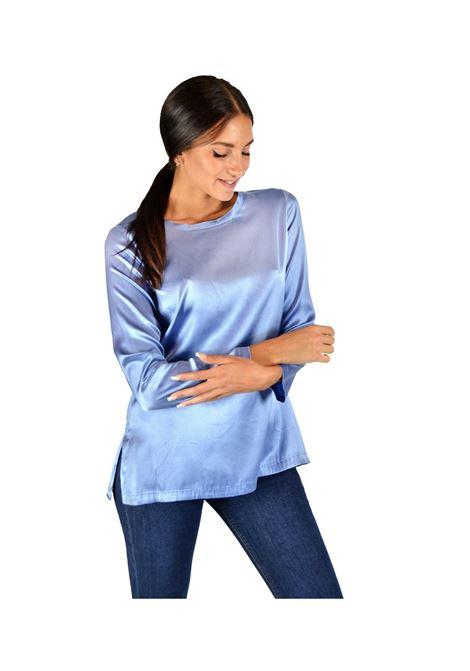 Celeste Woman T-shirt Maliparmi | Shirts and tops | JM40603102181004