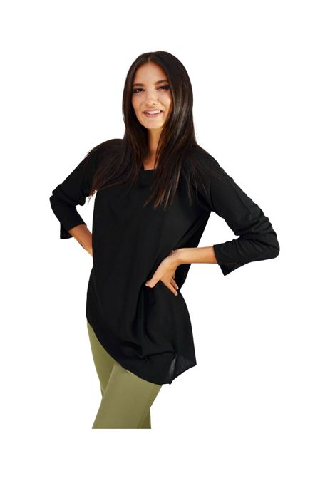 Women's Black Sweater Maliparmi | Knitwear | JQ47277423020000