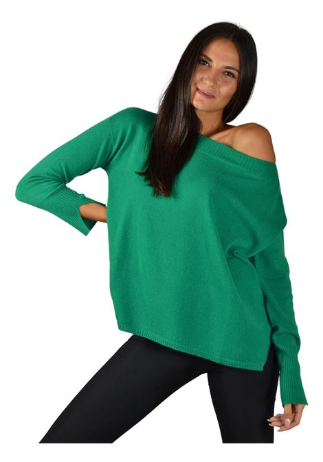 Women's Green Sweater Maliparmi | Knitwear | JQ47487425760018