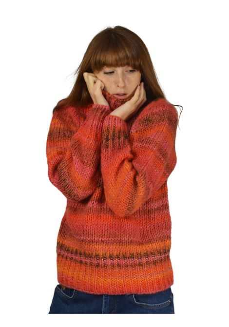 Women's Orange Sweater Maliparmi | Knitwear | JQ48197045531G99