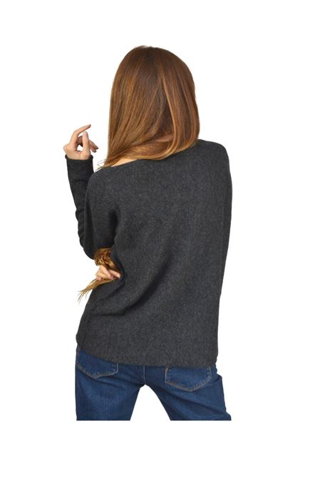 Anthracite Woman Sweater Maliparmi | Knitwear | JQ48237045721009