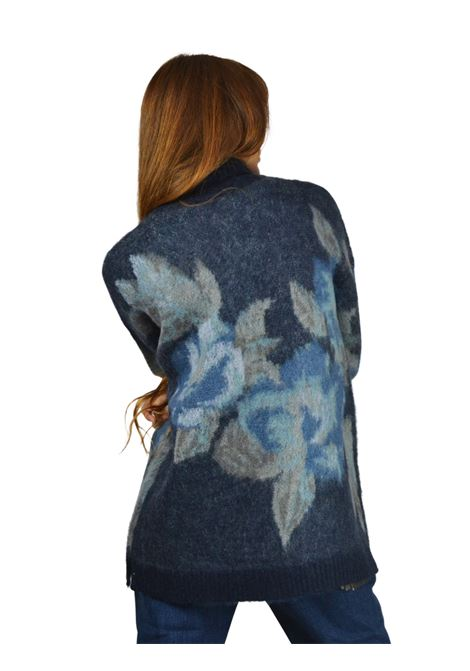 Women's Blue Sweater Maliparmi | Knitwear | JQ483870470C8029