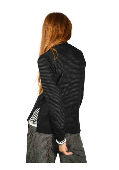 Women's Black Sweater Maliparmi | Knitwear | JQ48427047320B01
