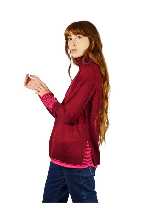 Women's Red Sweater Maliparmi | Knitwear | JQ48427047330B34