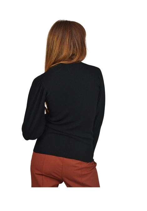 Women's Black Sweater Maliparmi | Knitwear | JQ48517047520000