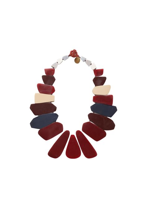 Collana Donna Bordeaux Maliparmi | Collane | TC04129067533B99