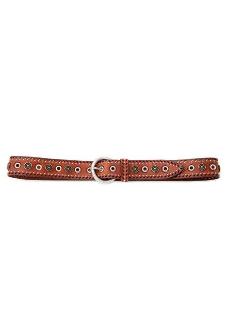 Women's Laser Studs Belt Nanni | Belts | 612NERO