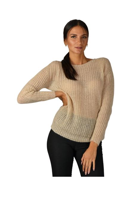 Women's Beige Sweater Pink Memories | Knitwear | 1095000