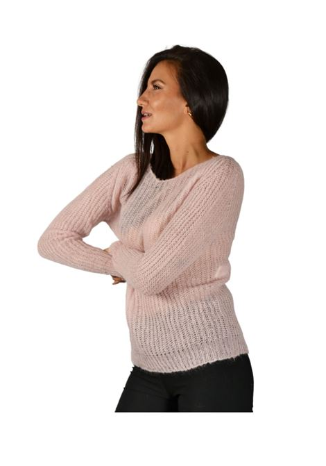 Women's Pink Sweater Pink Memories | Knitwear | 1095029