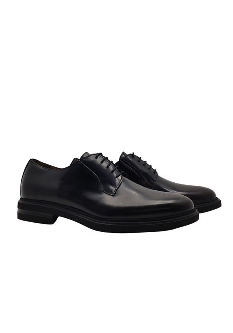 Smooth Lace-ups for Men Rogal's | Lace up shoes | 136NERO