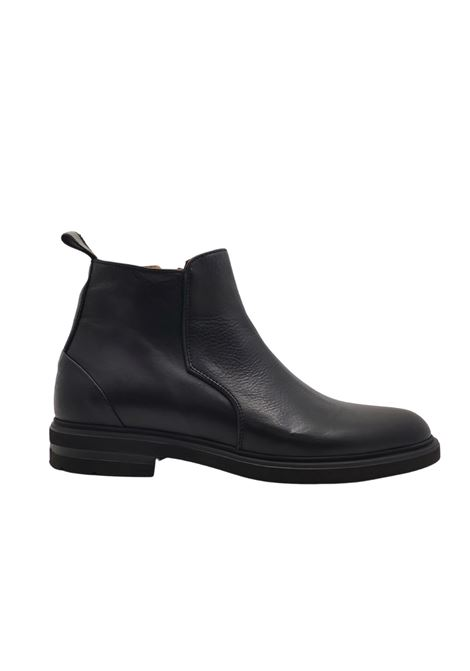 Men's Zip Ankle Boots Rogal's | Ankle Boots | 719NERO