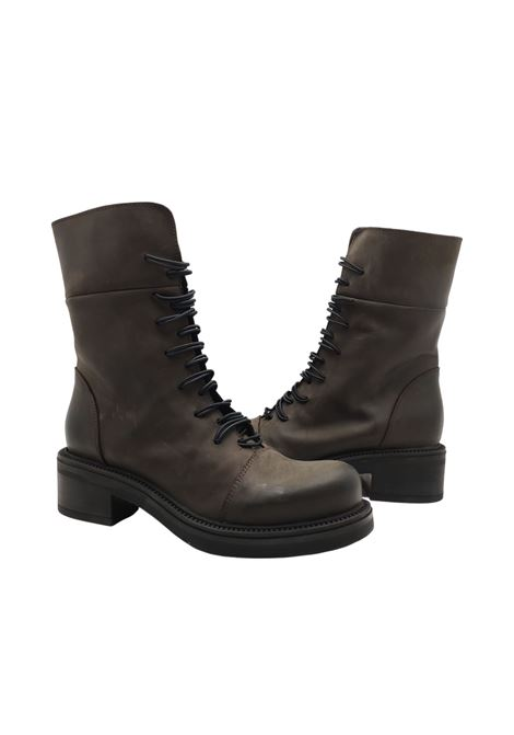 Women's Lace-up Amphibious Ankle Boots Tattoo | Ankle Boots | GAIA6MORO