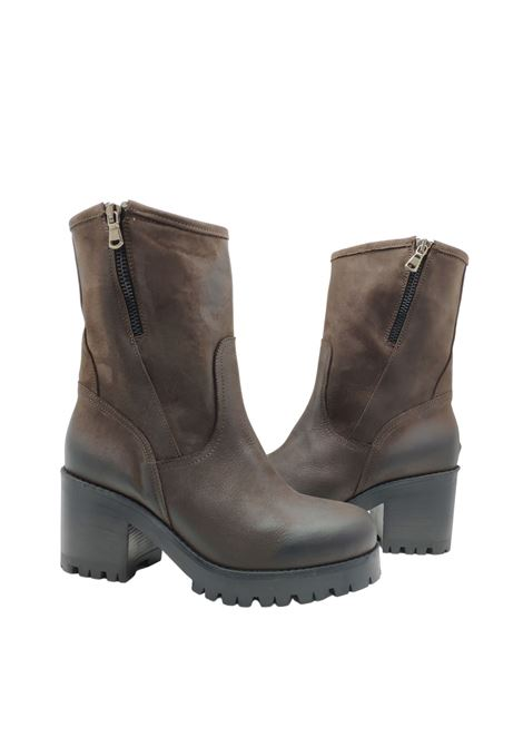 Women's Zip Amphibious Ankle Boots Tattoo | Ankle Boots | GIULIA13SMORO