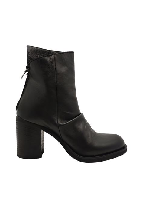 Women's Curled Ankle Boots Tattoo | Ankle Boots | SABRINA9NERO
