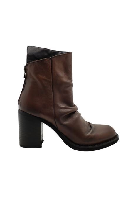Women's Curled Ankle Boots Tattoo | Ankle Boots | SABRINA9CUOIO