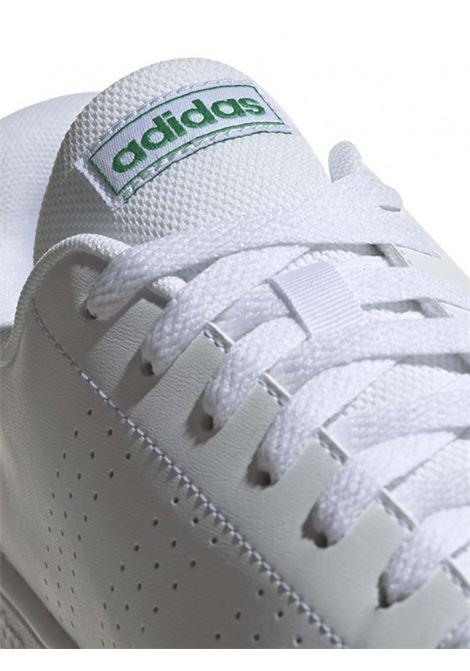 Men's Shoes Sneakers Advantage Base in White Leather EE7690 Adidas | Sneakers | ADVANTAGE BASEEE7690
