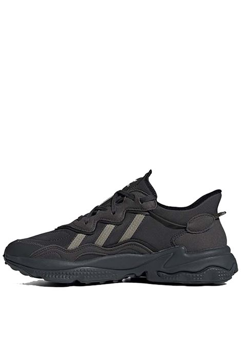 Men's Shoes Sneakers Ozweego in Eco-leather Black and Grey H04240 Adidas | Sneakers | OZWEEGOH04240