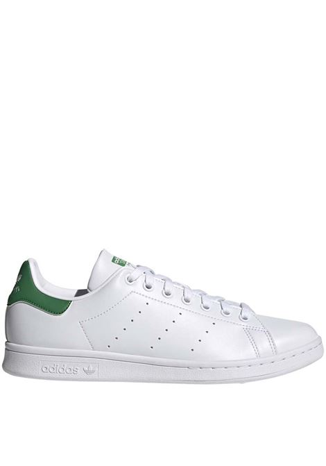 Women's Sneakers Stan Smith in Eco-leather White and Green FX7519 Adidas | Sneakers | STAN SMITH JFX7519