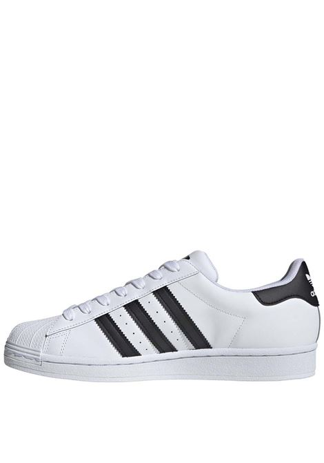 Men's Sneakers Superstar in White and Black Leather EG4958 Adidas | Sneakers | SUPERSTAREG4958
