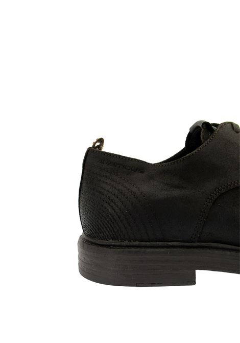 Men's Shoes Lace-up in Vintage Dark Suede with Memory Foam Insole and Rubber Sole Ambitious | Lace up shoes | 11626014