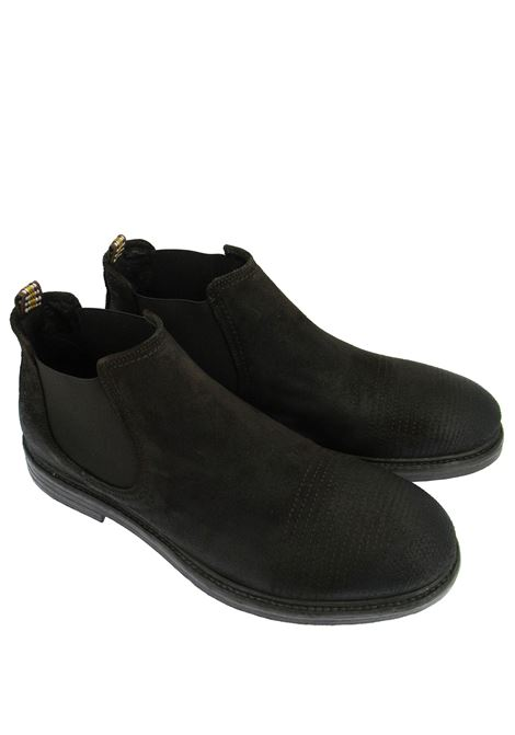 Men's Shoes Chelsea Boot Ankle Boots in Vintage Dark Brown Suede with Memory Foam Insole and Rubber Sole Ambitious |  | 11646014