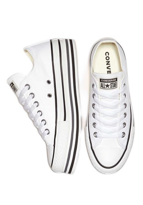 Women's Sneakers Chuck Taylor Platform in Canvas White and Wedge Sole Converse | Sneakers | CHUCK TAYLOR563971C