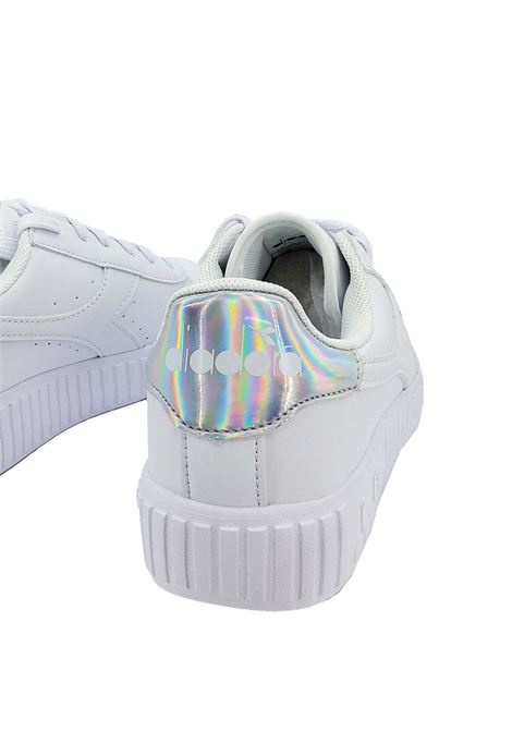 Women's Sneakers Game Step Gs in White Eco-leather and Multi Inserts 177376 Diadora | Sneakers | GAME STEP GSC6103