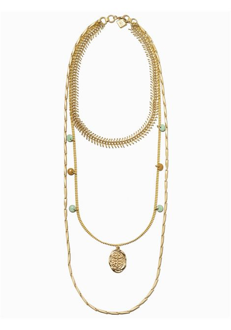 Women's Accessories Necklace Gold Brezza with Enamelled Pendants and Twist Chain EI.EL |  | BREZZE04