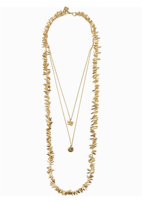Women's Accessories Necklace Gold Brezza with Chains and Butterfly Pendant EI.EL |  | BREZZE20
