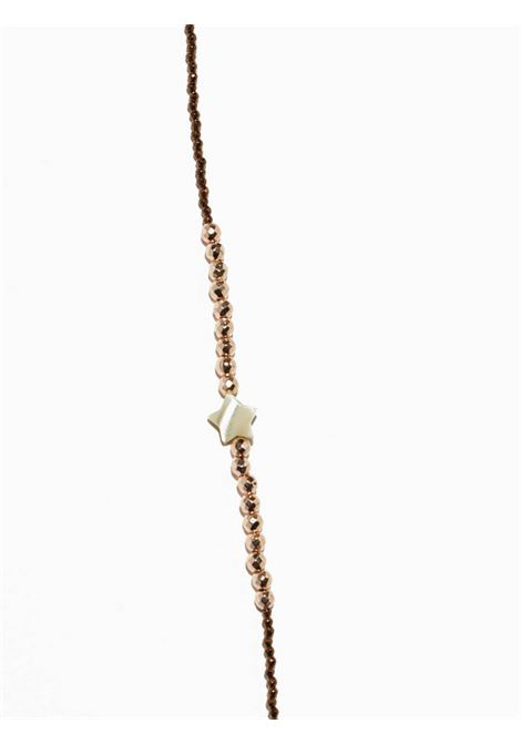 Women's Accessories Necklace Brina in Pink and Bronze Hematite with Mother of Pearl Stars EI.EL |  | BRINE01