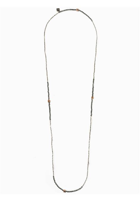 Women's Accessories Necklace Brina in White and Silver Hematite with Pink Washers EI.EL |  | BRINE09