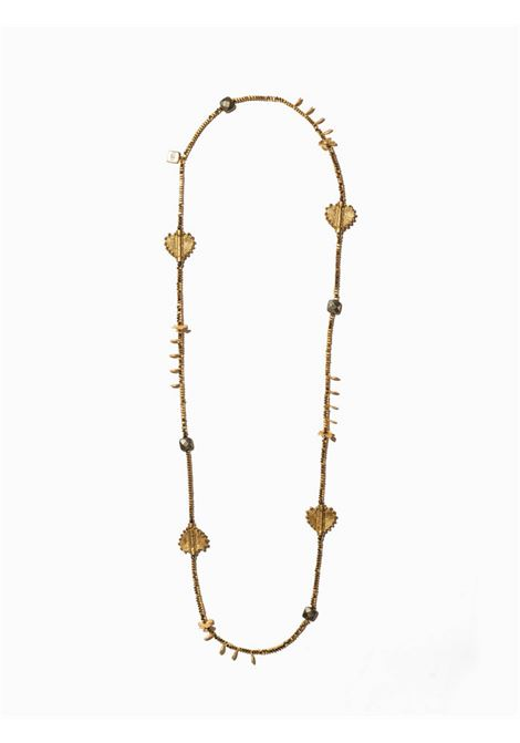 Women's Accessories Necklace Northia in Gold Hematite and Pyrite and Brass Pendants EI.EL |  | NORTHIA14