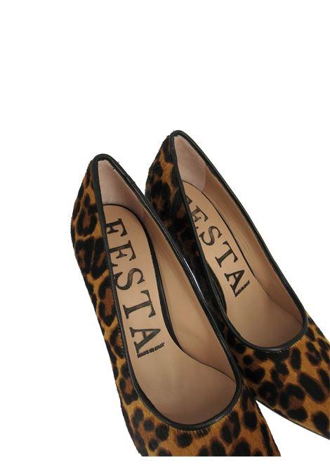 Women's Shoes Décolleté Leopard Animal High Heel Festa | Pumps | EMMA2500
