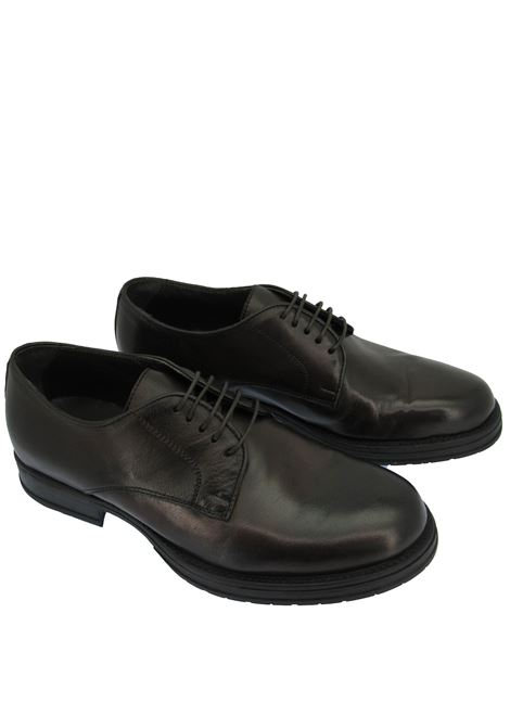 Men's Shoes Lace-up in Brown Leather with Ultra-flex Rubber Sole  Florsheim | Lace up shoes | 5269004