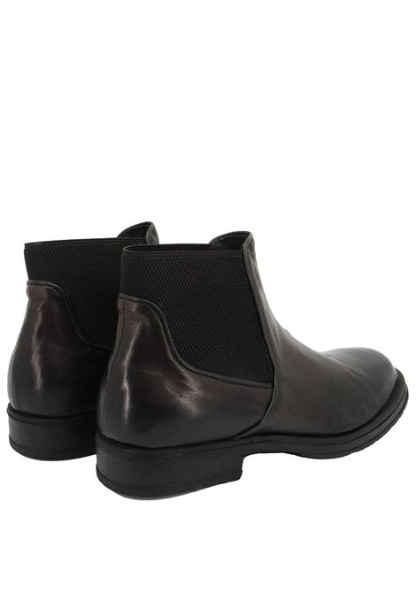 Men's Shoes Beatles Ankle Boots in Aged Leather Brown Rubber Sole  Florsheim | Ankle Boots | 5269204