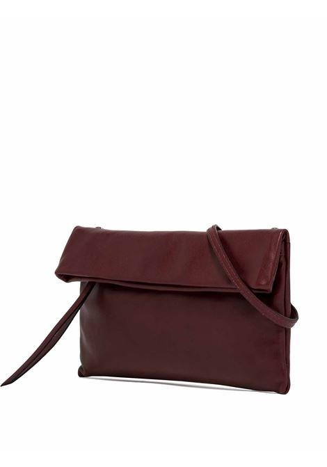 Women's Bag Cross-body Clutch Cherry In Bordeaux Leather With Flap And Adjustable And Detachable Cross-body Strap Gianni Chiarini | Bags and backpacks | BS73756653