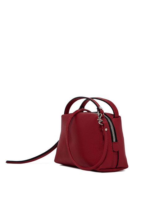 Women's Bag Mini Alifa in Red Leather with Double Handles and Matching Adjustable And Detachable Cross-body Strap Gianni Chiarini | Bags and backpacks | BS81459641