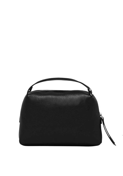 Women's Bag Clutch Maxi Alifa In Black Leather With Adjustable And Detachable Cross-body Strap Gianni Chiarini | Bags and backpacks | BS8148001