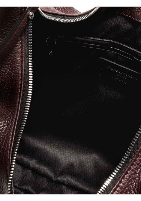 Women's Shoulder Bag Erica In Bordeaux Leather With Handle and Adjustable and Detachable Cross-body Strap in Matching Color Gianni Chiarini | Bags and backpacks | BS84576649