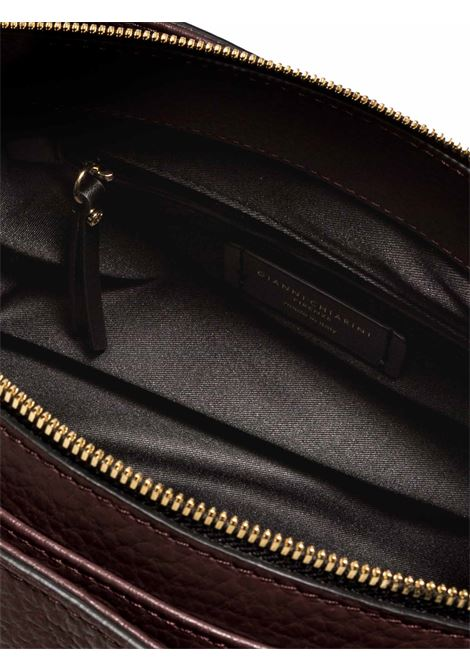 Women's Sandrine Shoulder Bag in Bordeaux Leather with Long Double Handles and Double Cursor Zip Closure Gianni Chiarini   Bags and backpacks   BS87876649