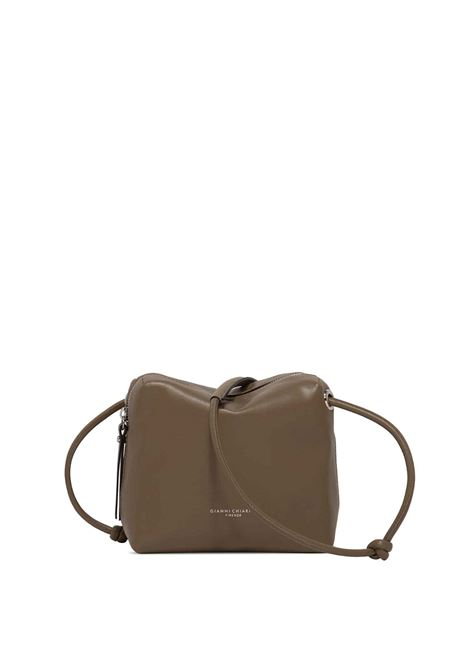 Women's Kate Clutch Bag in Smooth Mud Leather with Matching Adjustable Leather Shoulder Strap Gianni Chiarini | Bags and backpacks | BS8795013