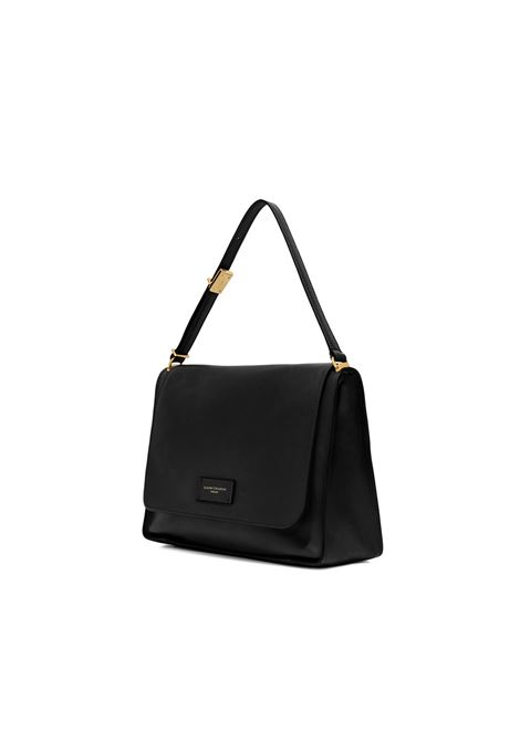 Women's Bag Renee in Black Leather with Magnetic Clasp and Matched Adjustable Handle Gianni Chiarini | Bags and backpacks | BS8892001