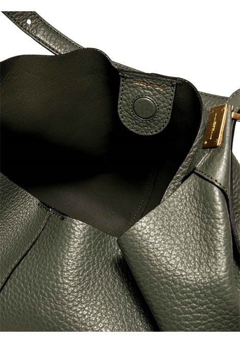 Women's Shoulder Bag Lisa in Green Leather with Adjustable Handle and Interior Clutch Gianni Chiarini | Bags and backpacks | BS891511384