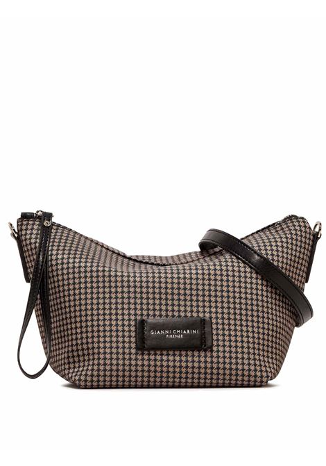 Women's Accessories Small Empty Bag in Taupe Fabric with Leather Shoulder Strap and Bracelet Gianni Chiarini   Bags and backpacks   SB9390096