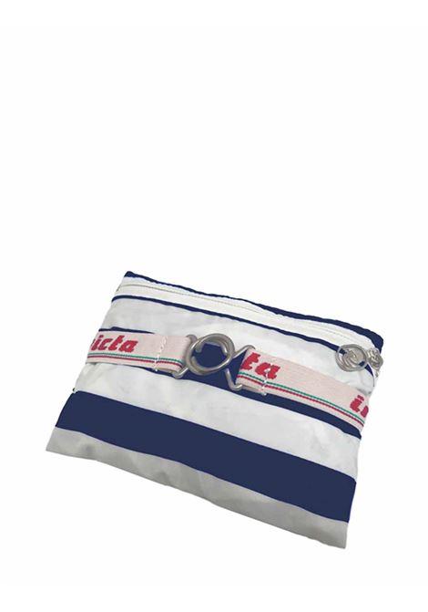 Zaino Unisex Iconico Minisac Bianco e Blu Ripiegabile 206001662 Invicta | Borse e zaini | MINISAC531