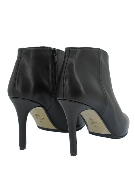 Women's Shoes Ankle Boots in Black Leather High Heel Pointed Toe L'Arianna | Ankle Boots | TR 1429001