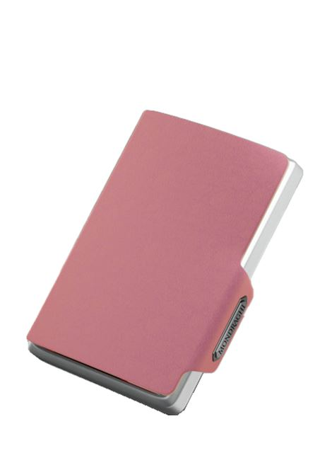 Men's Accessories Wallet Compact and Pocket Size in Ultra Lightweight Shell and Pink Saffiano Leather Mondraghi | Wallets | SAFFIANO32300