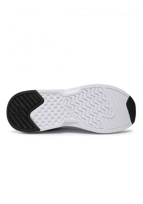 Calzature Uomo Sneakers Puma X Ray Lite in tessuto Bianco e Multi Colore Fondo Alto Ultra Leggero Puma | Sneakers | X RAY LITE374122-025
