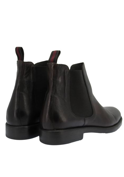 Men's Shoes Beatles Ankle Boots in Brown Leather with Rubber Sole Rogal's | Ankle Boots | GOR 9012