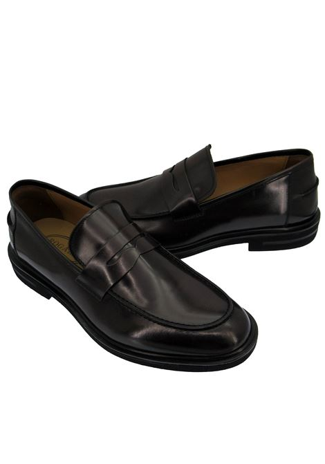 Men's Shoes Loafers in Semi-matt Brown Leather with Extralight Rubber Sole Rogal's | Mocassins | HOL 01013